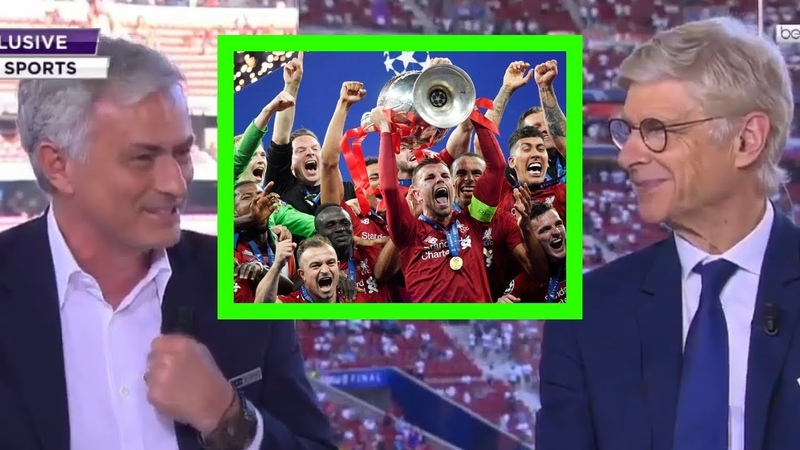 Jose Mourinho Arsene Wenger ANALYSIS on beIN Sports - Liverpool 2-0 Tottenham - UCL FINAL