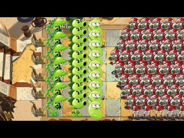 Snap Pea vs Repeater vs Laser Bean vs Electric Peashooter Pvz 2