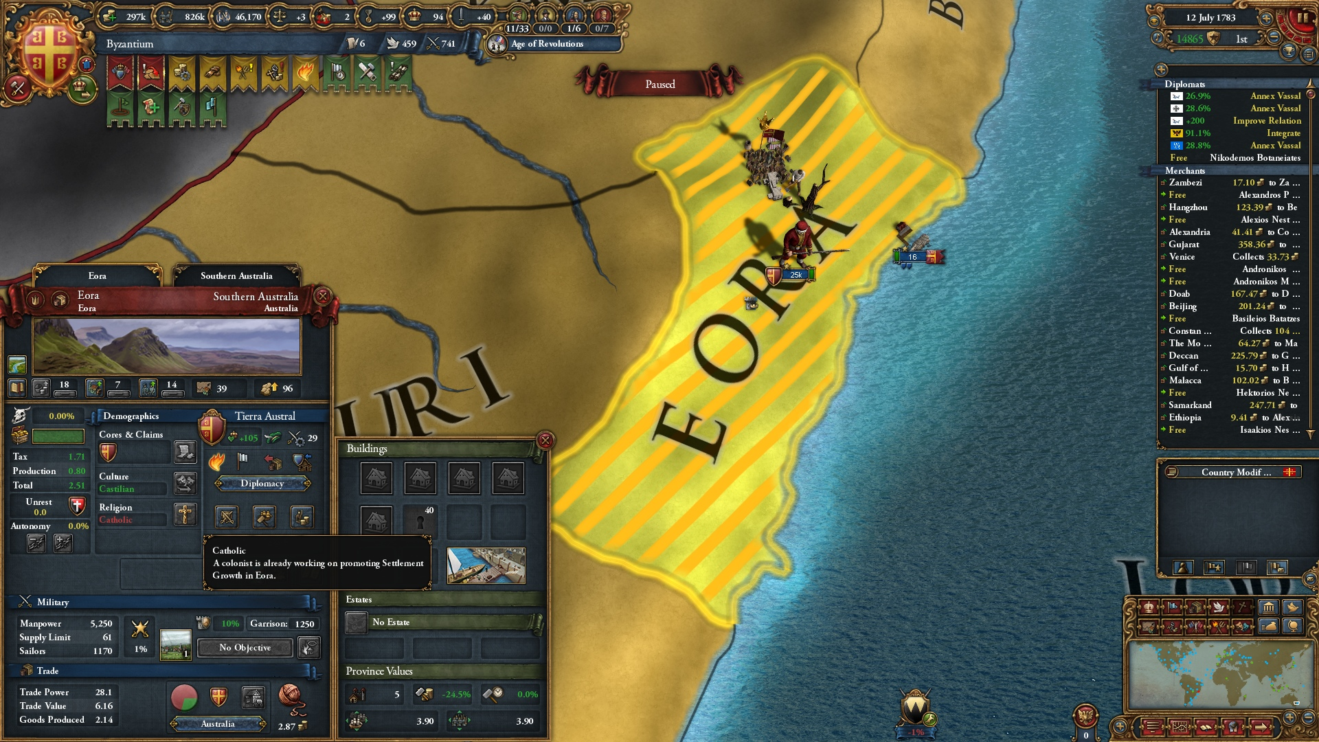 One faith is now impossible  Nice game, again | Paradox