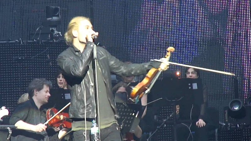 David Garrett Yesterday and Funiculi Funicula live in Halle Westf