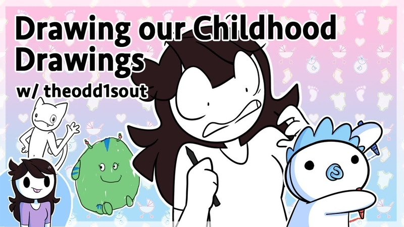 Drawing our Childhood Drawings w theodd1sout