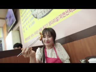 Hari_won_-_siêu_ham_ăn__gà_phô_mai_cay_hàn_quốc_du_lịch_seoul