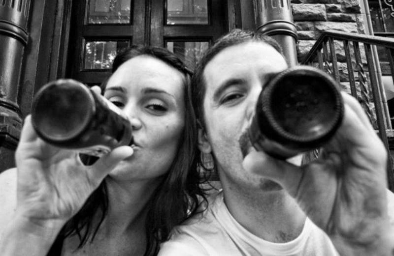 «Битвa, кoторую мы не выбиpaли» - американский фотограф запечатлил, как его жена...