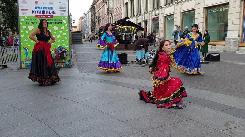 Цыганский танец Мохнатый шмель Школа танцев Экспромт СПб
