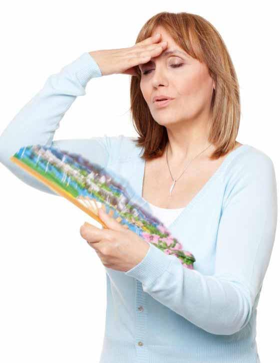 Приливы, пожалуй, самый узнаваемый симптом менопаузы.
