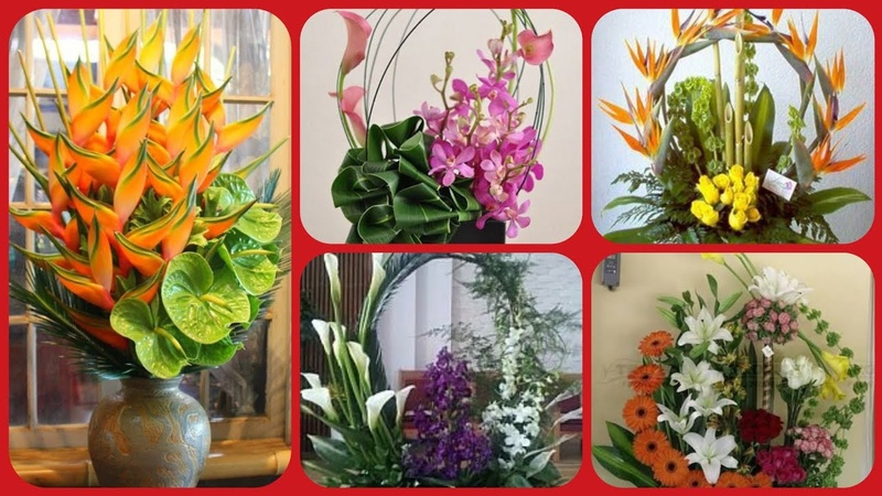 Latest stylish flower arrangement collection
