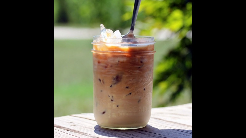 HOW TO MAKE QUICK AND EASY ICED COFFEE   THE BEST ICED COFFEE EVER QUICK EASY VEGAN RECIPE