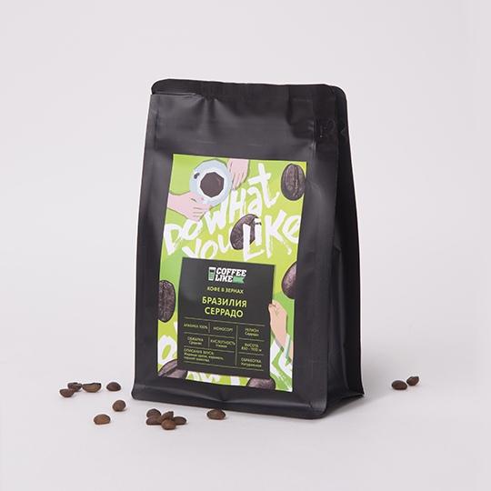 Кофе в зернах: Бразилия Серрадо