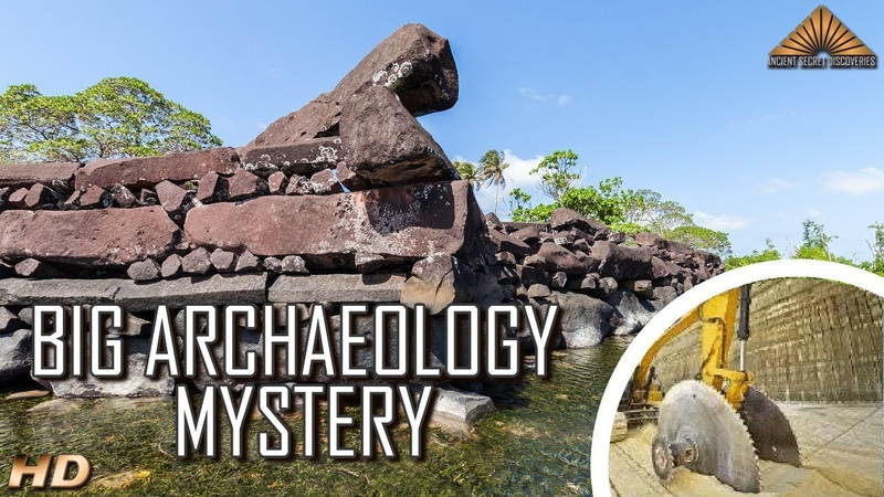 Huge Ancient Megalithic Complex Discovered on a Remote Island With No Quarry?