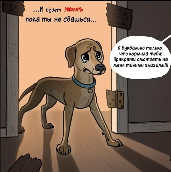 Вечноголодные питомцы Иллюстратор: Pet_foolery