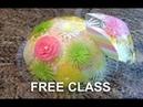 Gelatin Art Free Online class