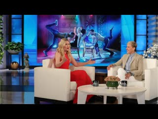 Beth behrs on giving and receiving a lap dance from magic mike live dancer