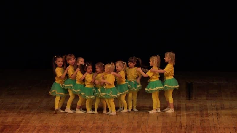 13 Танец Гусеница Непоседы Долгопрудный Отчётный концерт Шаг вперёд 13 04 2019г