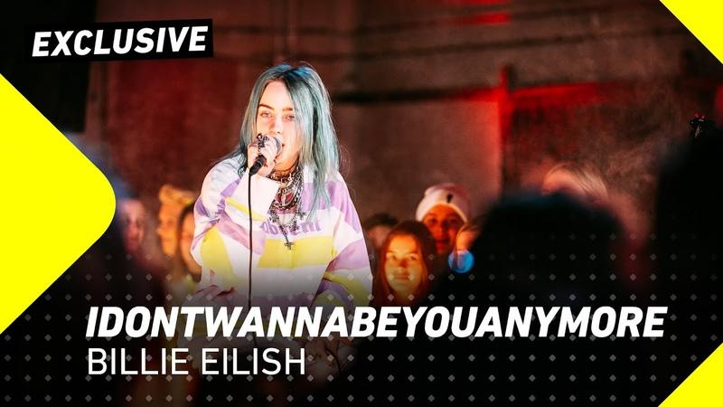 Billie Eilish - Idontwannabeyouanymore | 3FM Exclusive | 3FM Live