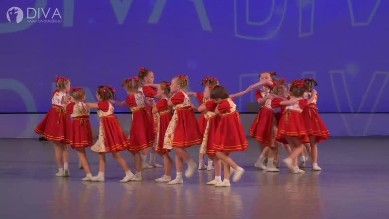 Детский танец (6-8 лет) Вейся капустка, хореограф Ольга Завиялова - студия танца DIVA
