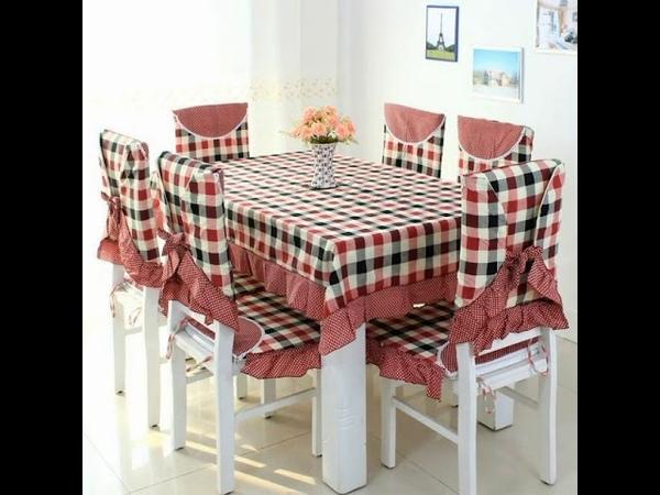 جديد اغطية طاولة وكراسي المطبخ لهذا العام 1