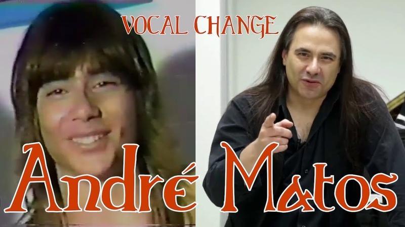 ANDRE MATOS VOCAL CHANGE (1985 - 2017) [Eng - Esp] (Live)