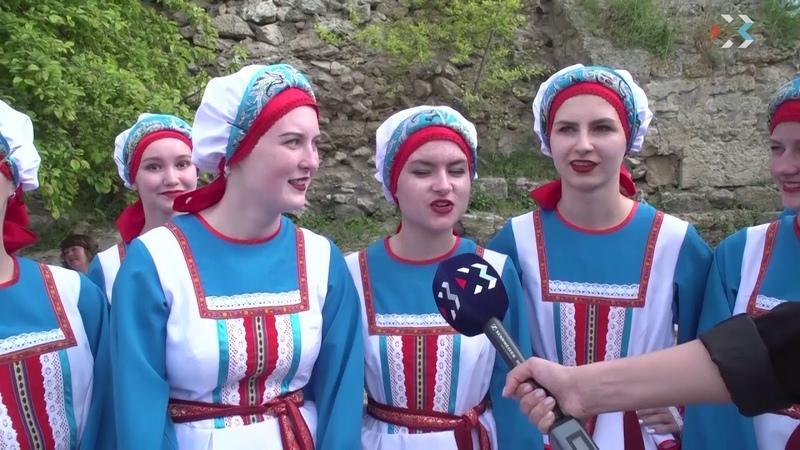 Россиянка выступление в Херсонесе 10.05.2019