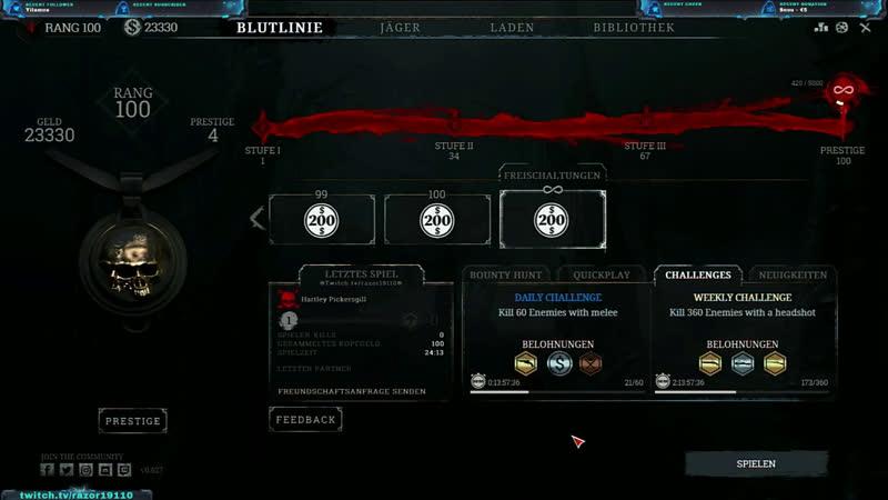 [GER] [18] I Update 6.01 Assassin Hunten I mit Snoudog1986 I !multi I