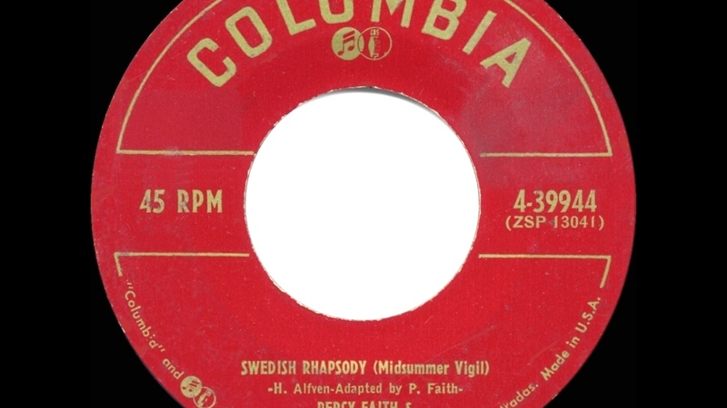1953 HITS ARCHIVE Swedish Rhapsody Percy Faith instrumental