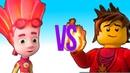 нинзяго против фиксики Супер Реп Битва I ninjago vs fixico Super Rap Battle