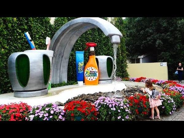Удивительный Парк Цветов в Дубае Dubai Miracle Garden VLOG