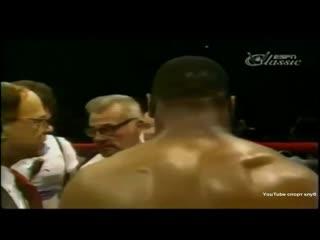 Лучшие бои Майка Тайсона - Майк Тайсон против Регги Гросс