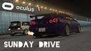 SUNDAY DRIVE to Tokyo 600HP Skyline R34 Assetto Corsa VR Gameplay Oculus Rift