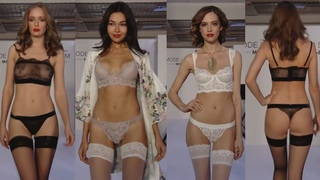 LINGERIE COLLECTION,BIKINI SHOW/fashion show microbikini/показ нижнего белья/мини бикини 2019