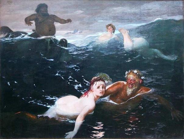 «История одного шедевра». «Игра в волнах», Арнольд Бёклин