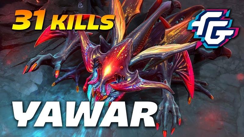YawaR 31 Kills Crazy Weaver | Dota 2 Pro Gameplay