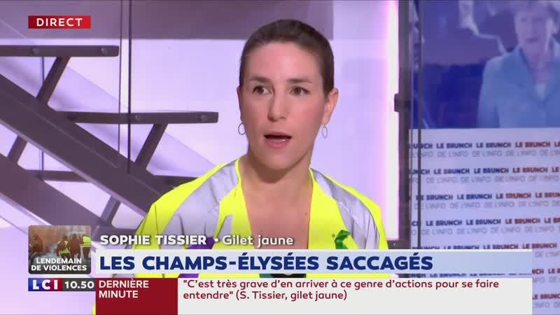 Grosse Colère de Tissier (Gilet Jaune) _ «M. Macron mérite la prison !» (LCI,17_03_19, 10h49)