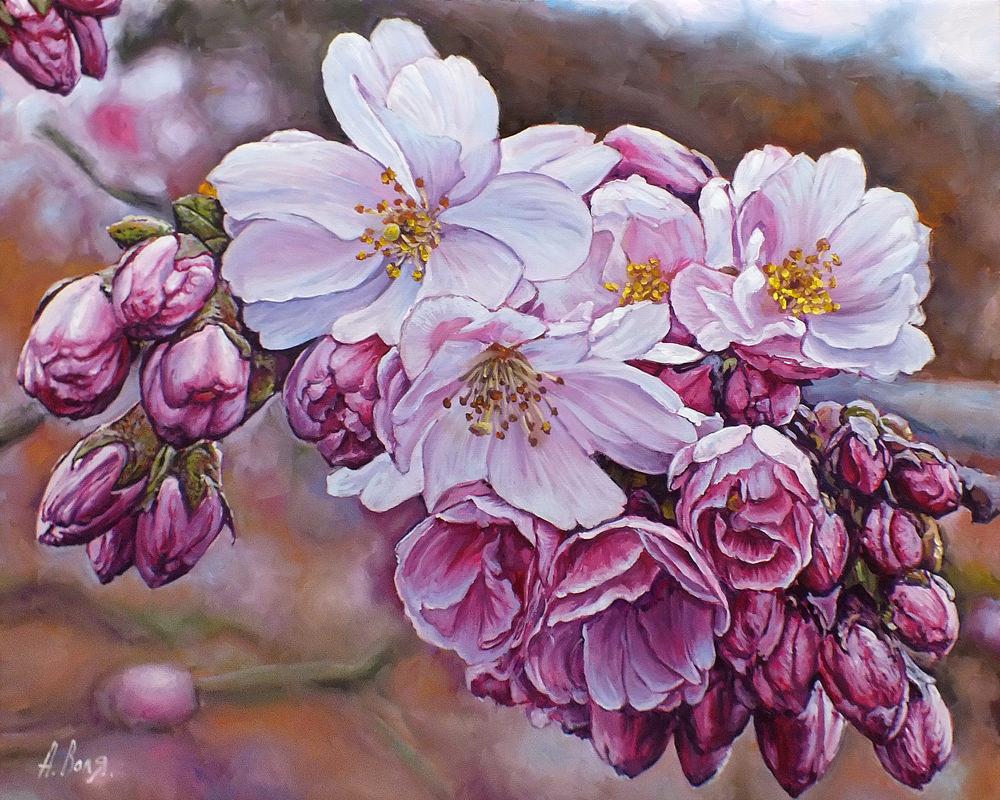 Весна в картинах Александра Воля