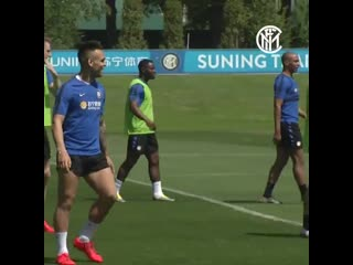 Appiano Gentile - No messing from @Asabob20 in training - InterEmpoli