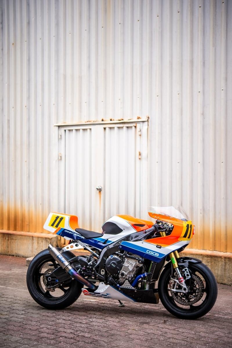 Crazy Garage: кастом BMW S1000RR