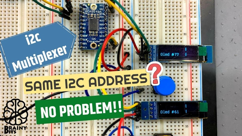 How to use two I2C modules that have the same address?
