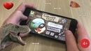 Играем в игру для детей - босс динозавр в Caveman Chuck Adventure.