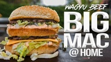 The Best Homemade Big Mac (with Wagyu Beef!) SAM THE COOKING GUY 4K