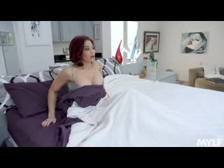 Ryder skye - sloppy kissing in the kitchen [all sex, hardcore, blowjob, milf, big tits]