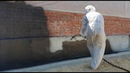 Гидроизоляция фундамента с использованием материала СЛАВЯНКА® жидкая резина двухкомпонентная