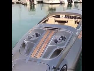Porsche boat