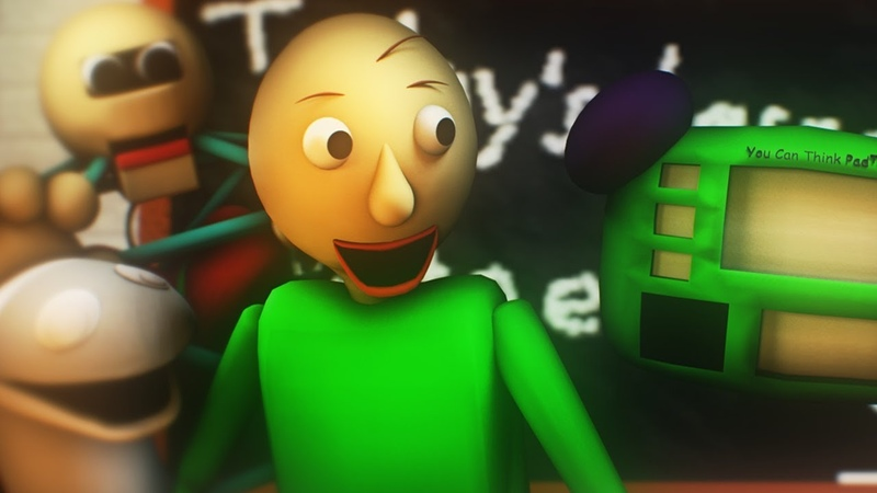 [SFM Baldi's Basics] All Baldi Voice Lines animated