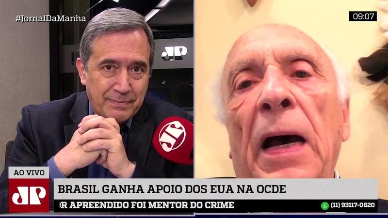Ricupero minimiza entrada de Brasil na OCDE e critica aliança extra OTAN com EUA