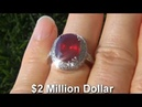 GIA Certified Pigeon Blood Red Ruby Diamond Ring - eBay AUCTION