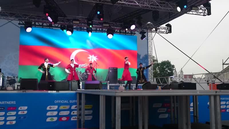 день Азербайджана . лезгтнка . Минск 2019