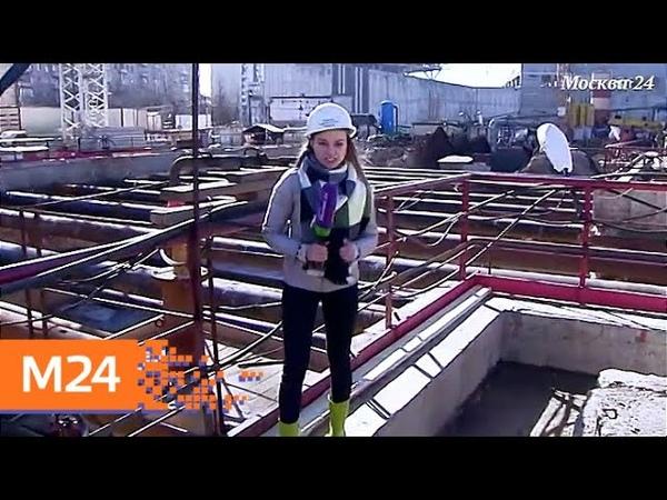 Строительство в деталях в подземке проложили тоннель к станции Мичуринский проспект Москва 24