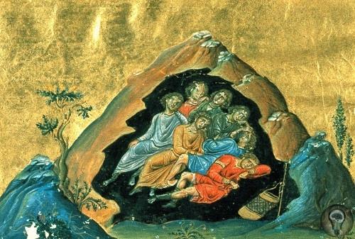 Историческая загадка семерых юношей, проспавших 200 лет в пещере Их называют по разному Семь спящих отроков, Семь отроков Эфесских или Семь святых отроков, но одинаково почитают и в христианстве