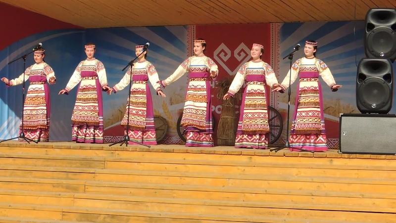 2019г. Ансамбль Сигудэк (Коми) в Мариинском Посаде. ч.11