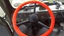 Оплётка руля из лески 2мм на ретро руль уаз, газ 53, зил 130