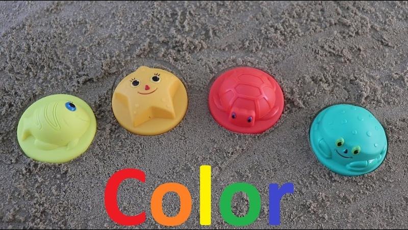 Learn color with beautiful kulichikami orange yellow green red